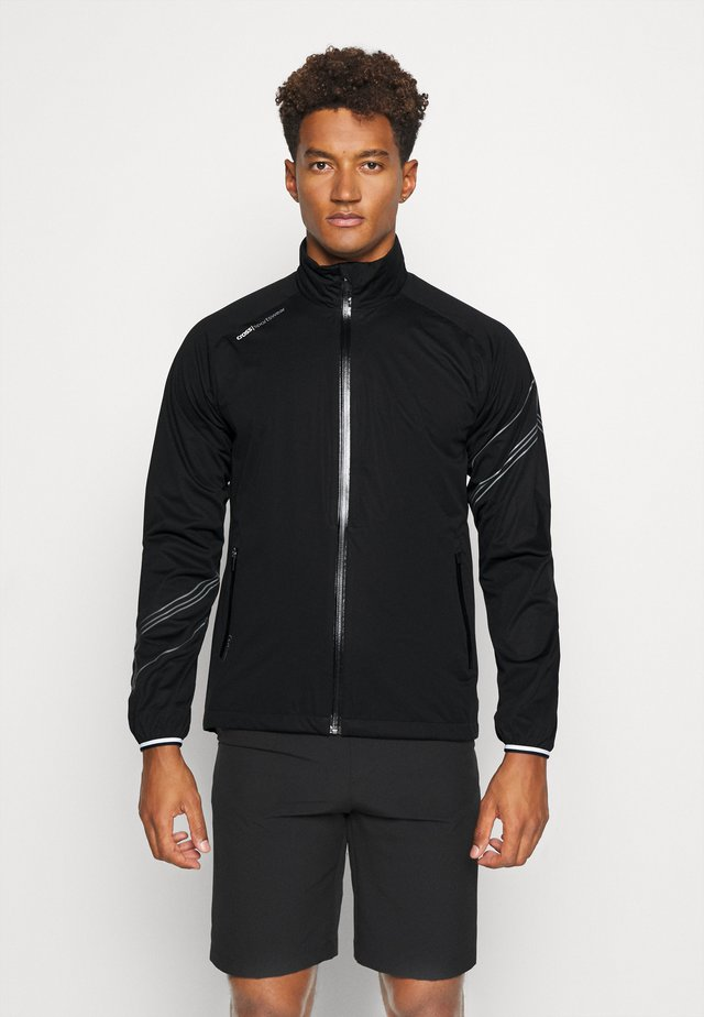 HURRICANE JACKET - Giacca hard shell - black