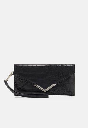 ELIZABETA - Wallet - jet black/silver-coloured
