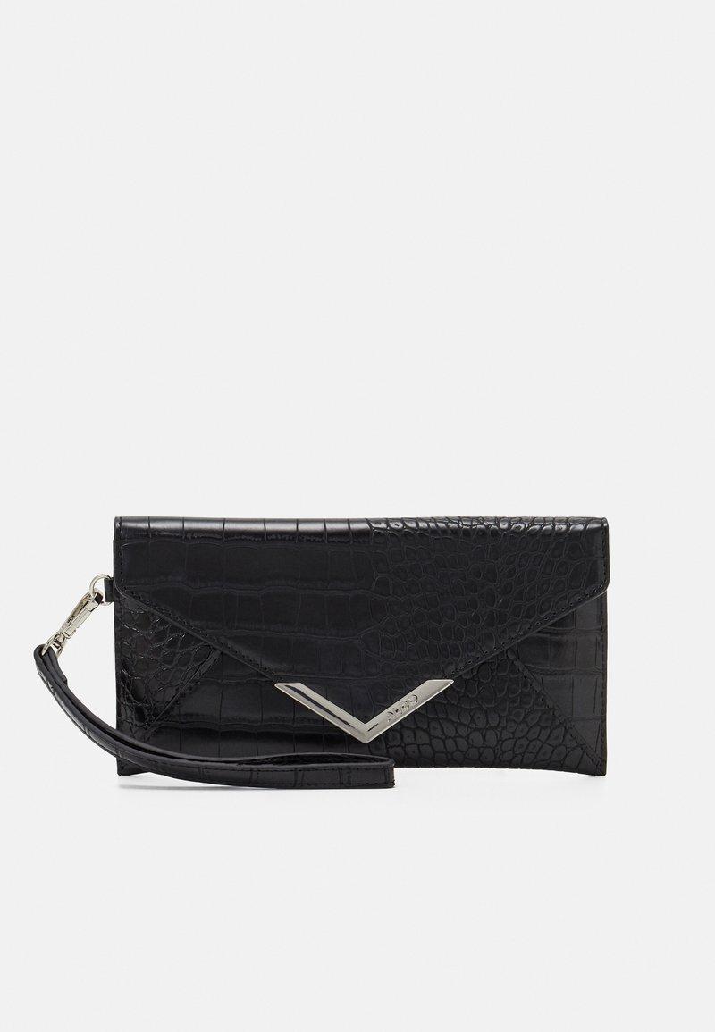 ALDO - ELIZABETA - Wallet - jet black/silver-coloured