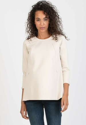 ALY - Long sleeved top - natural