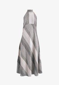 GESSICA - Maxi dress - schwarz und weiß - 6