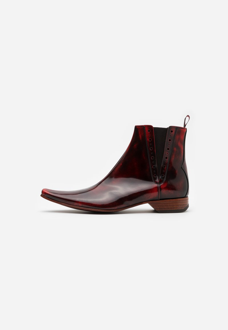 Jeffery West - PINO CENTRE SEAM CHELSEA - Cowboy/biker ankle boot - college red