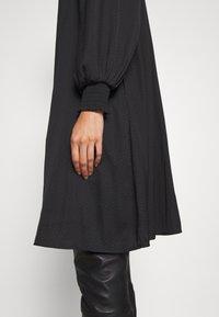 Bruuns Bazaar - PRICKLY METTE DRESS - Day dress - black - 4