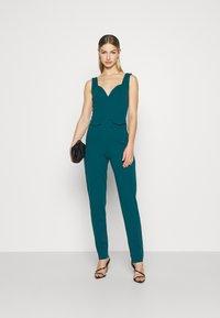WAL G. - SERENITY PLUNGE - Jumpsuit - dark teal blue - 1