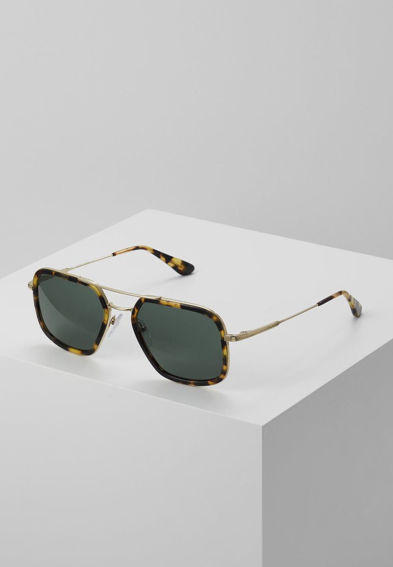 Prada - Sunglasses - brown/pale gold-coloured