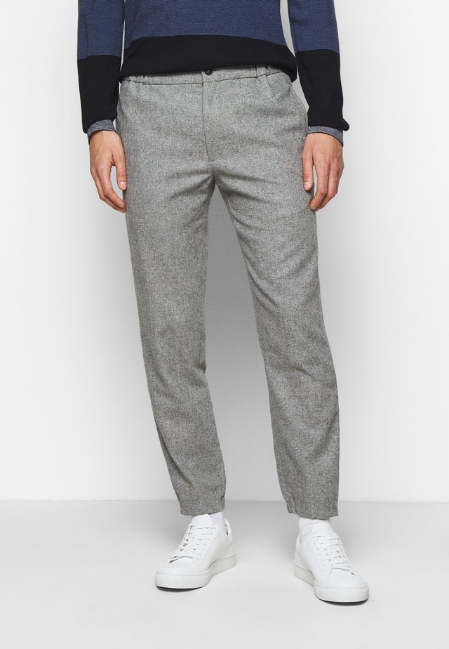 LEX TEXTURE - Trousers - grey combo