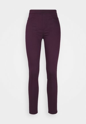 Jeggings - berry