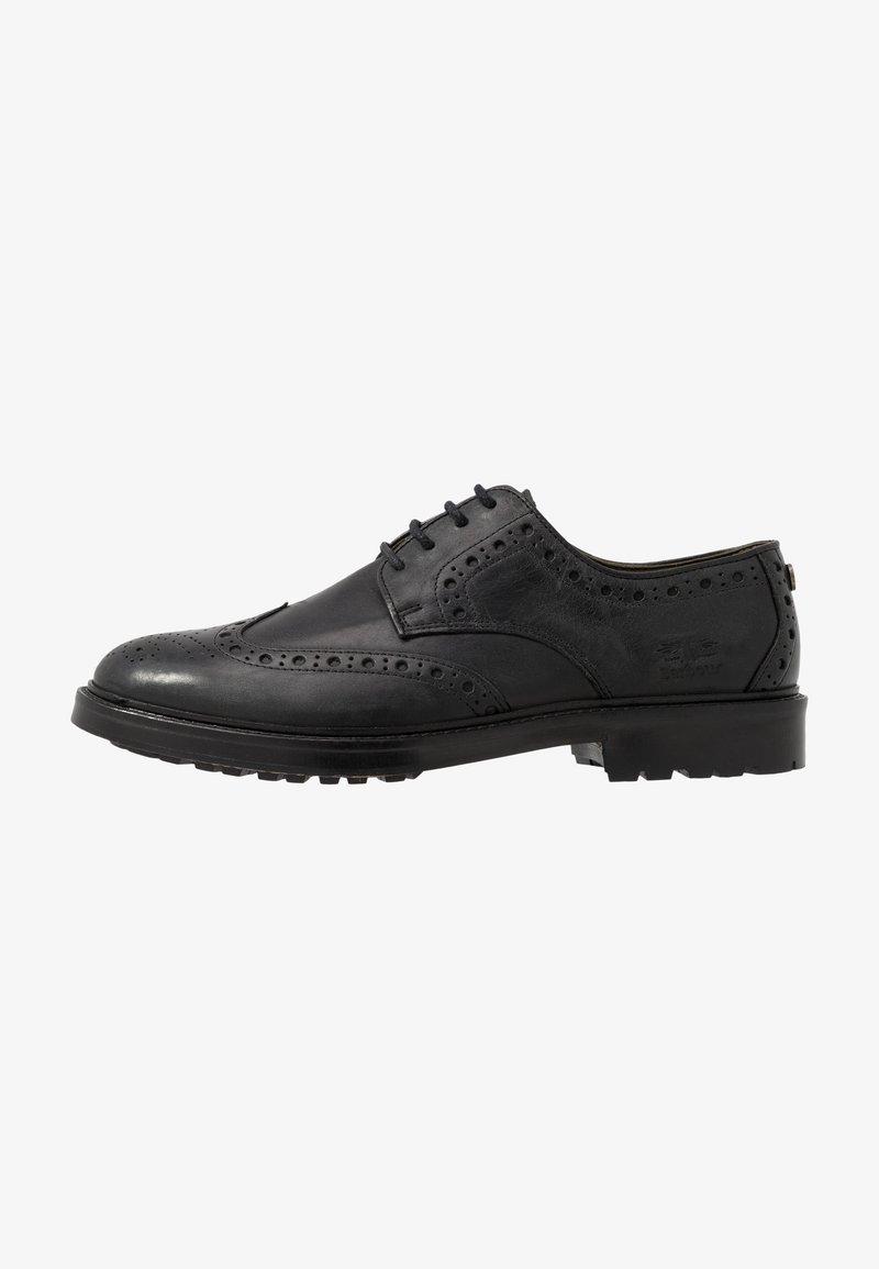Barbour - OUSE - Smart lace-ups - black