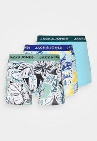 Jack & Jones - JACRAYON TRUNKS 3 PACK - Underkläder - baltic/deep teal - 6