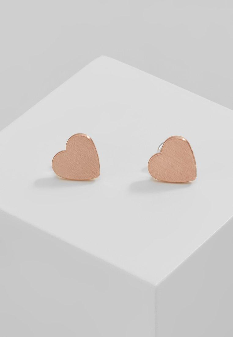 Pilgrim - EARRINGS VIVI - Náušnice - rosegold-coloured