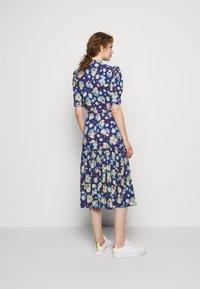 Lauren Ralph Lauren - DRAPEY POLY  - Denní šaty - blue multi - 2