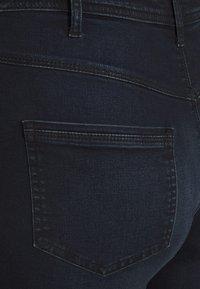 Zizzi - AMY SHAPE - Jeans Skinny Fit - dark blue denim - 4