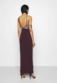 Lace & Beads - MAXI - Occasion wear - burgundy - 2