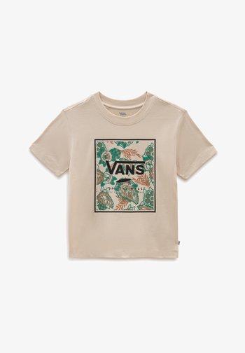 Print T-shirt - oatmeal