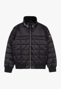 Calvin Klein Jeans - SQUARE QUILT LIGHT  - Winter jacket - black - 0