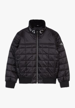 SQUARE QUILT LIGHT  - Winter jacket - black