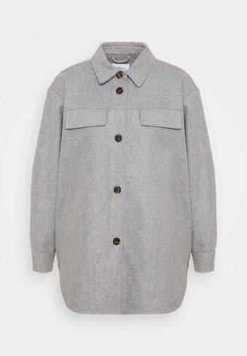 MAUDE JACKET - Summer jacket - mottled light grey