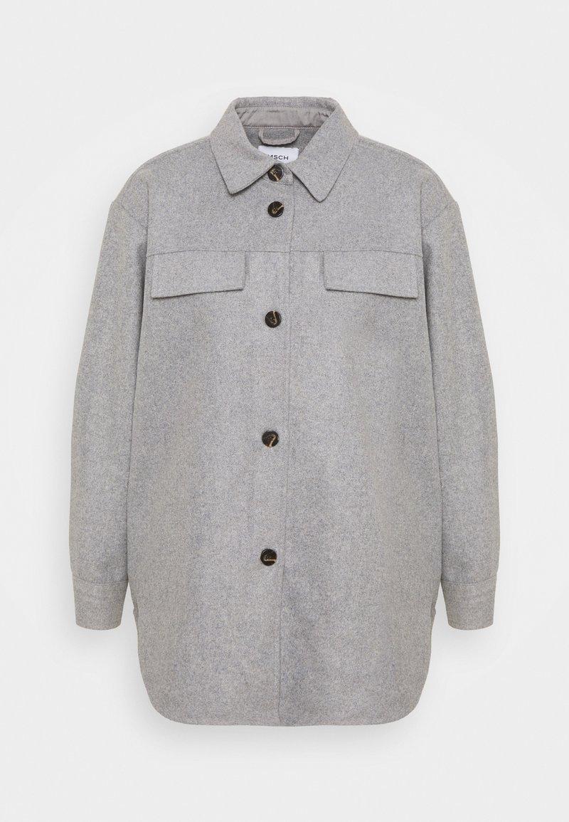Moss Copenhagen - MAUDE JACKET - Summer jacket - mottled light grey