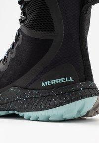 Merrell - BRAVADA POLAR WATERPROOF - Zimní obuv - black - 5