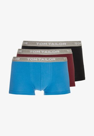 3 PACK - Boxerky - red/dark/solid