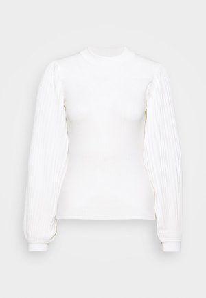 PLEATED - Svetr - off white