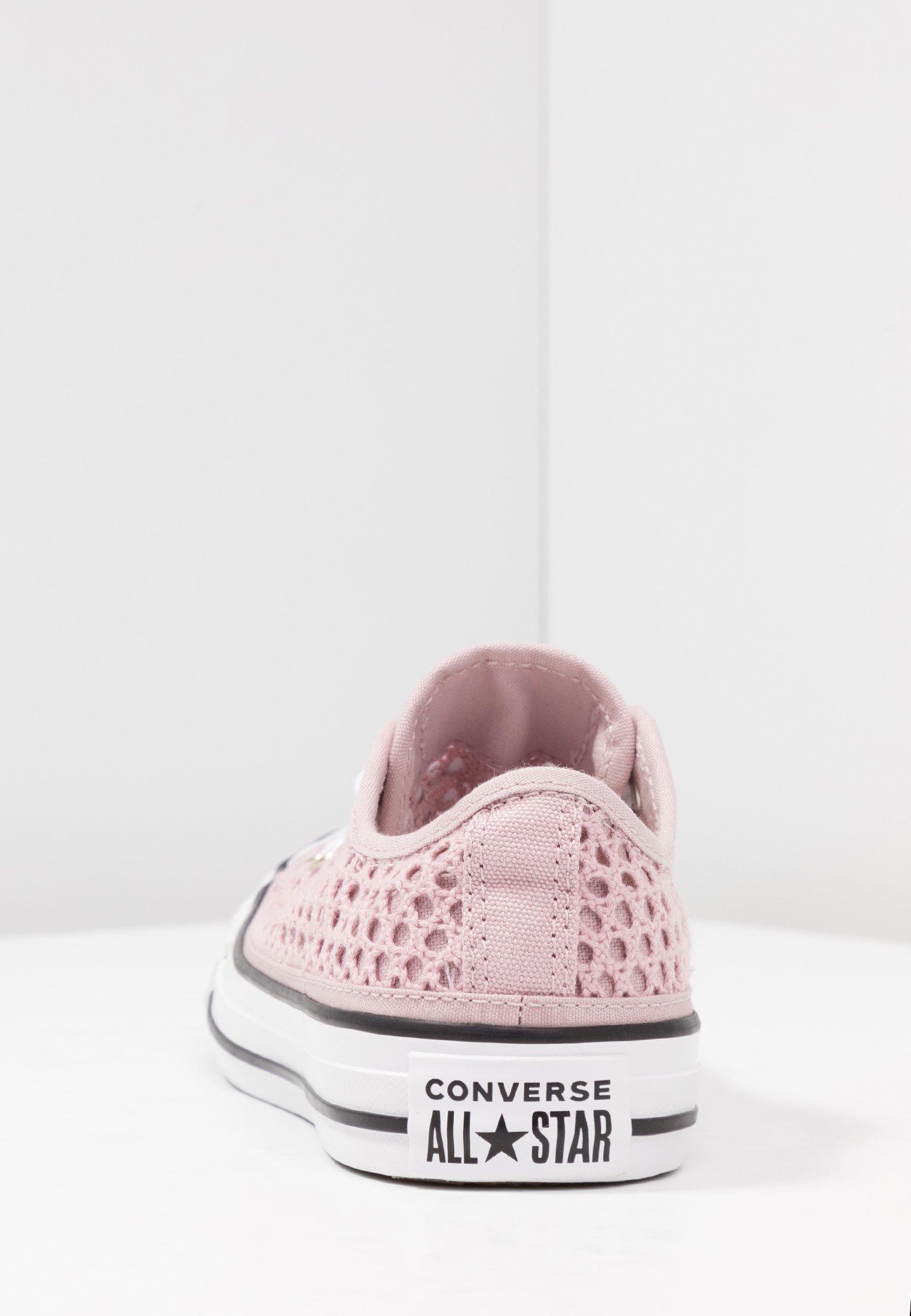Converse CHUCK TAYLOR - Trainers - plum chalk/white/black