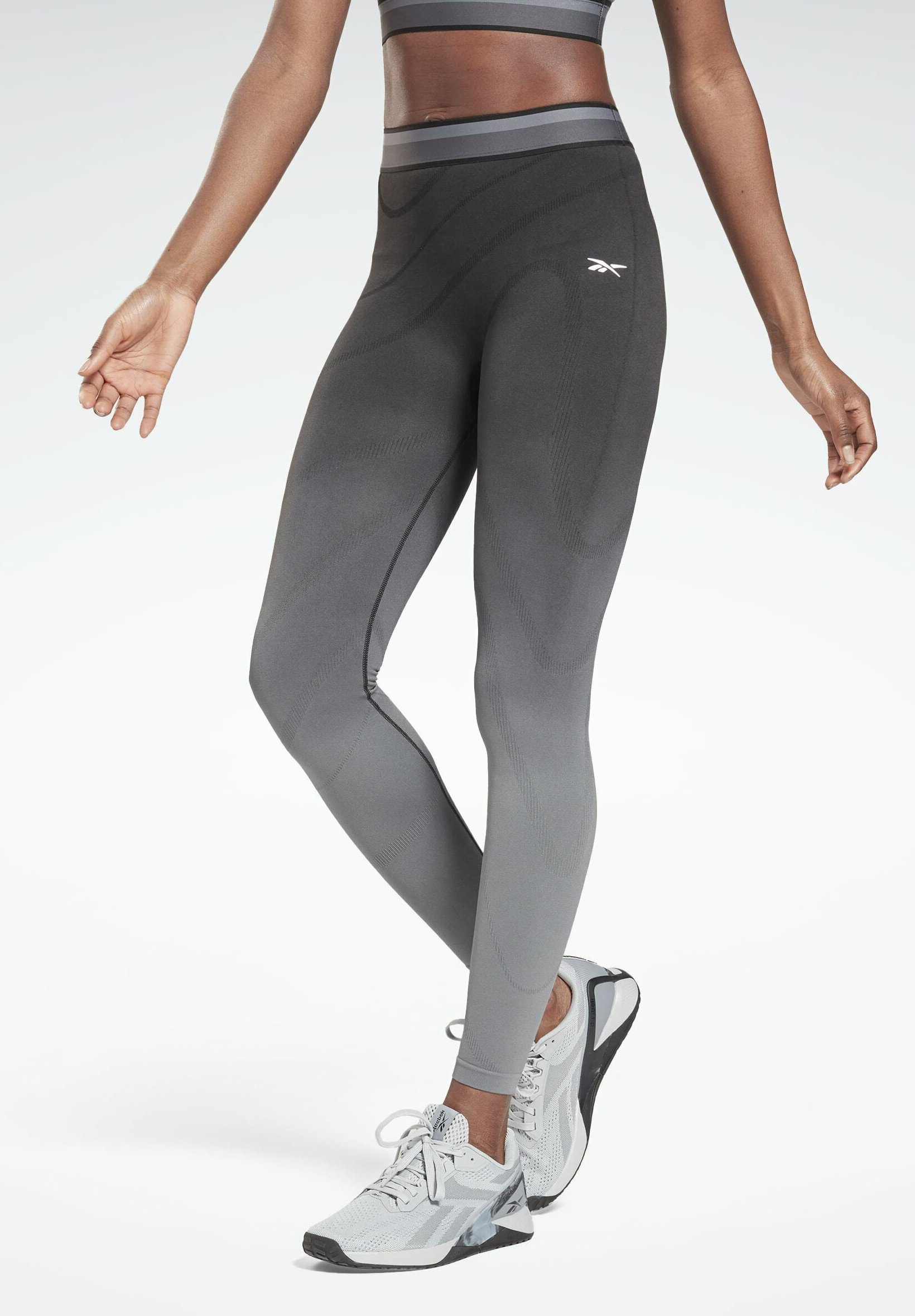 Donna TRAINING WORKOUT UNITED BY FITNESS SEAMLESS HIGH WAISTED - Collant