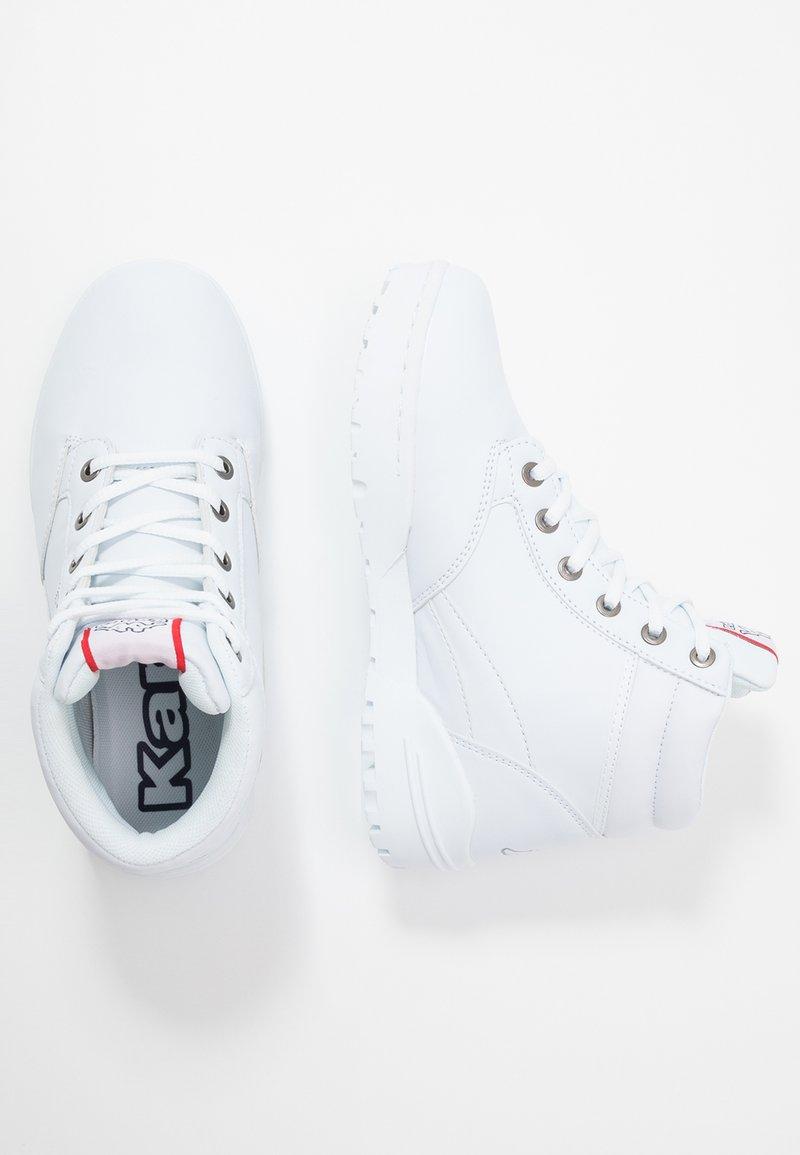 Kappa - BONFIRE - Sportieve wandelschoenen - white