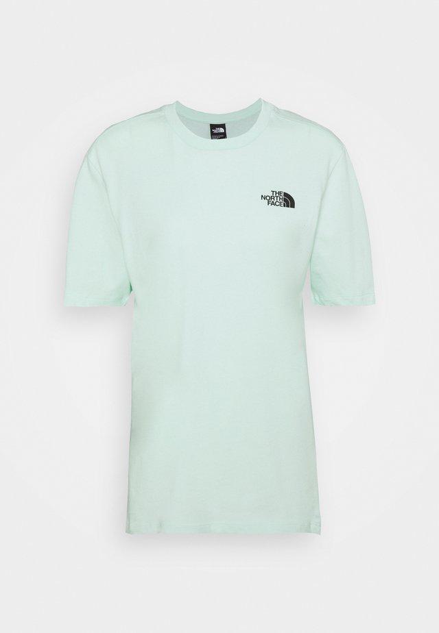 INTERNATIONAL WOMENS DAY TEE - T-shirt print - misty jade