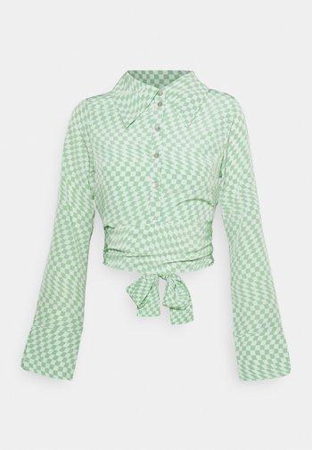 HAMMER SHIRT - Bluser - light green