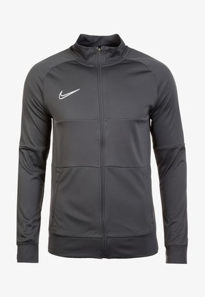 DRY ACADEMY - Training jacket - anthracite / white