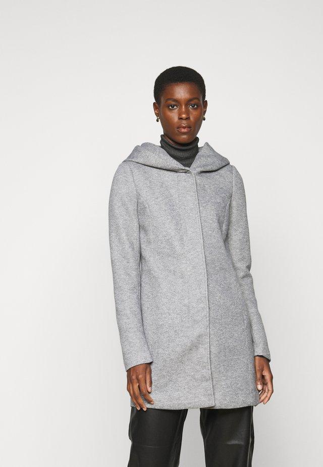 ONLSEDONA LIGHT COAT - Cappotto corto - light grey