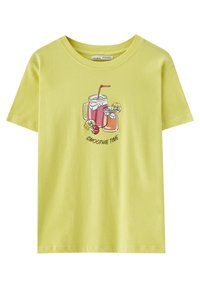 PULL&BEAR - Print T-shirt - light green - 0