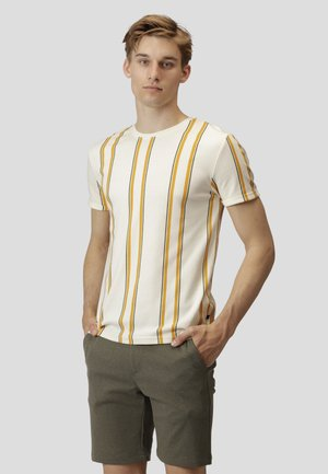 LARRY - T-shirt print - ecru