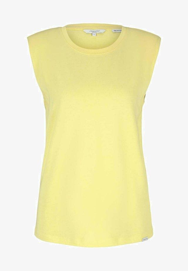 Débardeur - mellow yellow