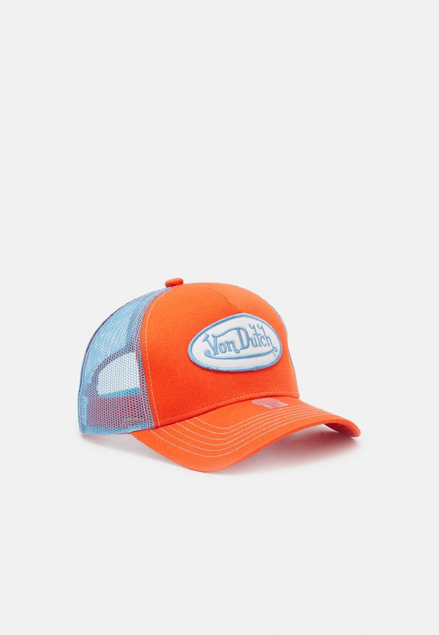 UNISEX - Cap - orange/blue