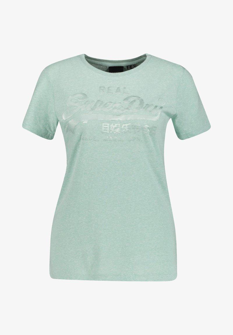 Superdry - T-shirt imprimé - mint