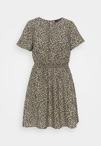 New Look Curves - FLO ANIMAL DRESS - Day dress - black - 5