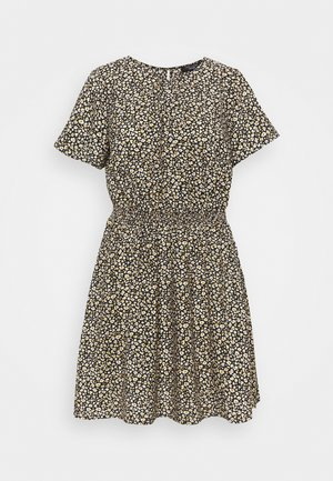 FLO ANIMAL DRESS - Day dress - black