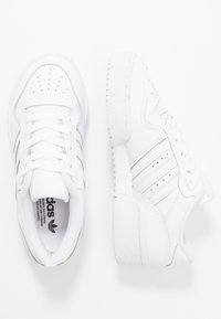 adidas Originals - RIVALRY - Joggesko - footwear white/core black - 2