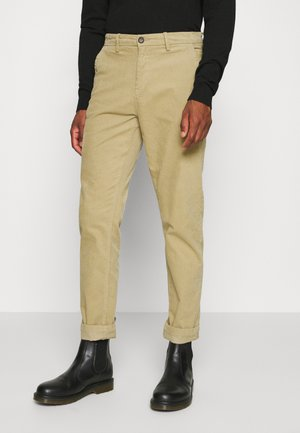 CORD TROUSERS - Trousers - sand