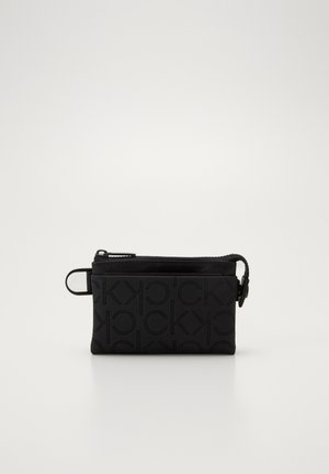 MONO BLEND ZIPPED POUCH - Wallet - black