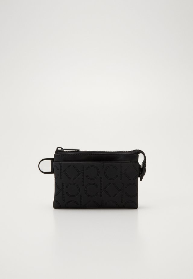 MONO BLEND ZIPPED POUCH - Monedero - black