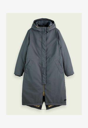 Classic coat - steel grey