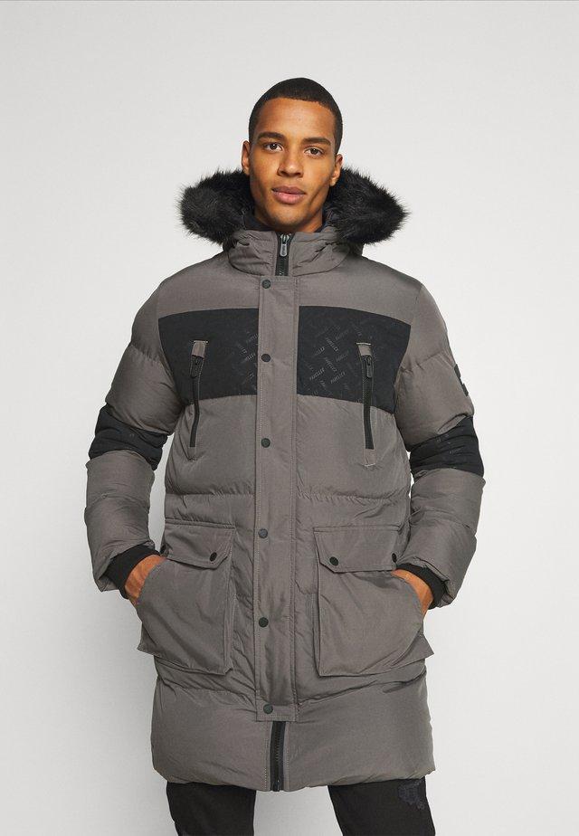 LUNAR LONGLINE JACKET - Abrigo de invierno - grey