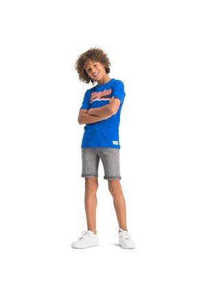 CONNOR - Denim shorts - light grey