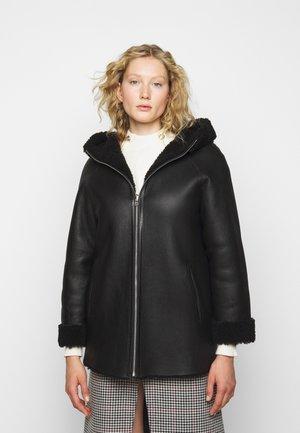 Płaszcz zimowy - noir