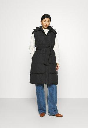 SABREEN - Waistcoat - black