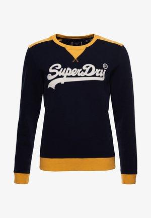 SUPERDRY VINTAGE  AMERICAN CLASSIC  - Sweatshirt - eclipse navy