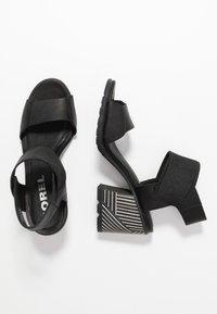 Sorel - NADIA - Sandals - black - 3